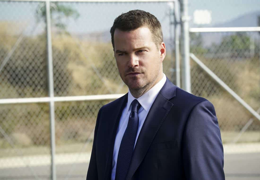 """The Monster"" -  Pictured: Chris O'Donnell (Special Agent G. Callen). While investigating a missing personÕs case, the team uncovers a killer who puts on shows for high-paying voyeurs.  Also, Mosley assigns Callen as her partner on a joint ATF mission to apprehend someone from her past, on NCIS: LOS ANGELES, Sunday, April 1 (9:00-10:00 PM, ET/PT) on the CBS Television Network. Photo: Monty Brinton/CBS ©2018 CBS Broadcasting, Inc. All Rights Reserved."