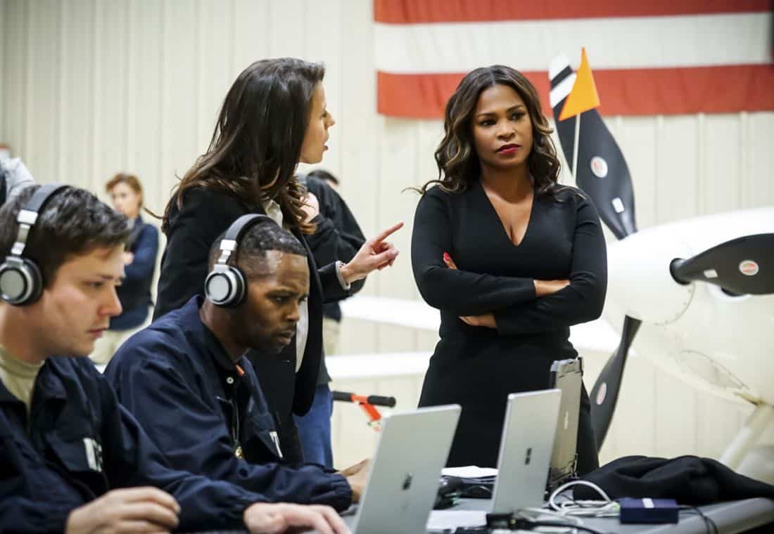 """The Monster"" -  Pictured: Nia Long (Executive Assistant Director Shay Mosley). While investigating a missing personÕs case, the team uncovers a killer who puts on shows for high-paying voyeurs.  Also, Mosley assigns Callen as her partner on a joint ATF mission to apprehend someone from her past, on NCIS: LOS ANGELES, Sunday, April 1 (9:00-10:00 PM, ET/PT) on the CBS Television Network. Photo: Monty Brinton/CBS ©2018 CBS Broadcasting, Inc. All Rights Reserved."