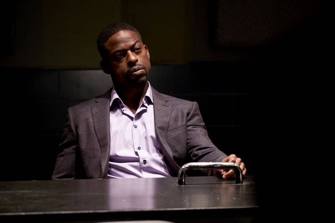 "BROOKLYN NINE-NINE: Guest star Sterling K. Brown in the ""The Box"" episode of BROOKLYN NINE-NINE airing Sunday, April 1 (8:30-9:00 PM ET/PT) on FOX. CR: FOX"