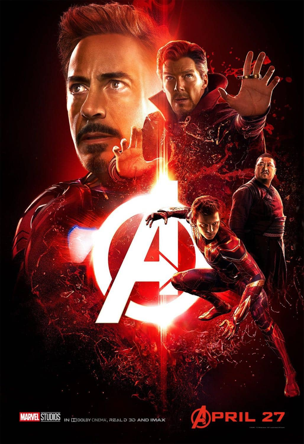 New AVENGERS INFINITY WAR Posters 1