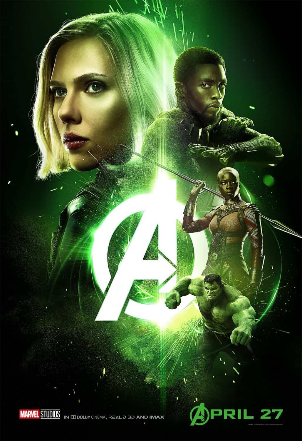 New AVENGERS INFINITY WAR Posters 2