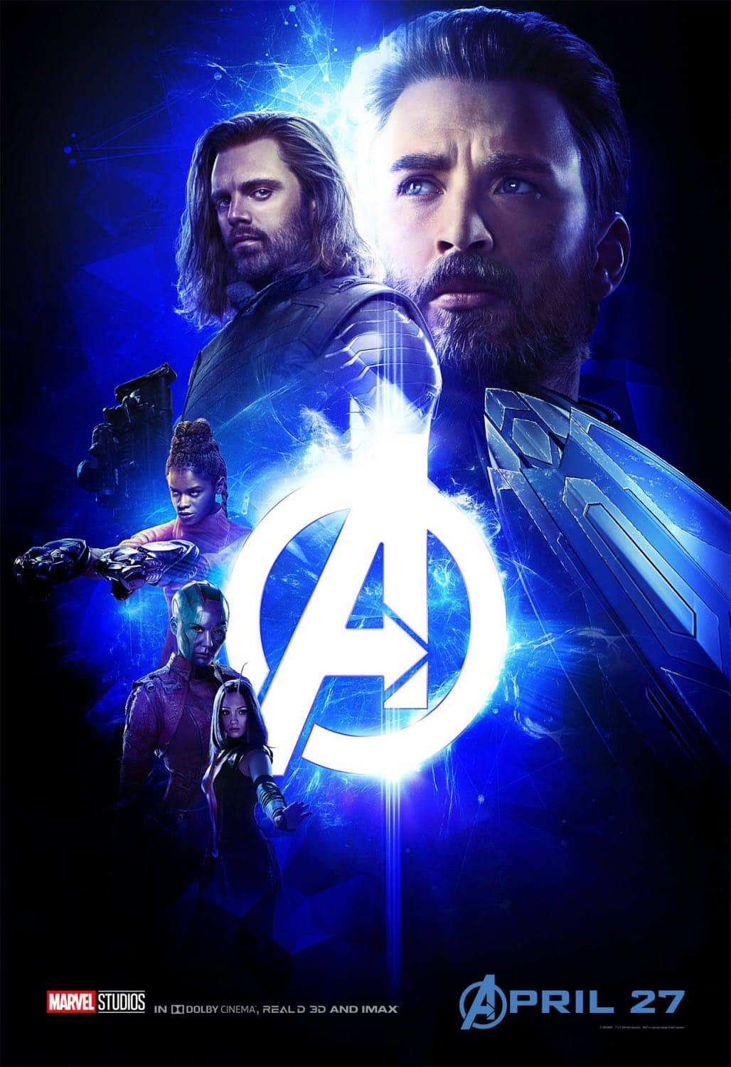 New AVENGERS INFINITY WAR Posters 3