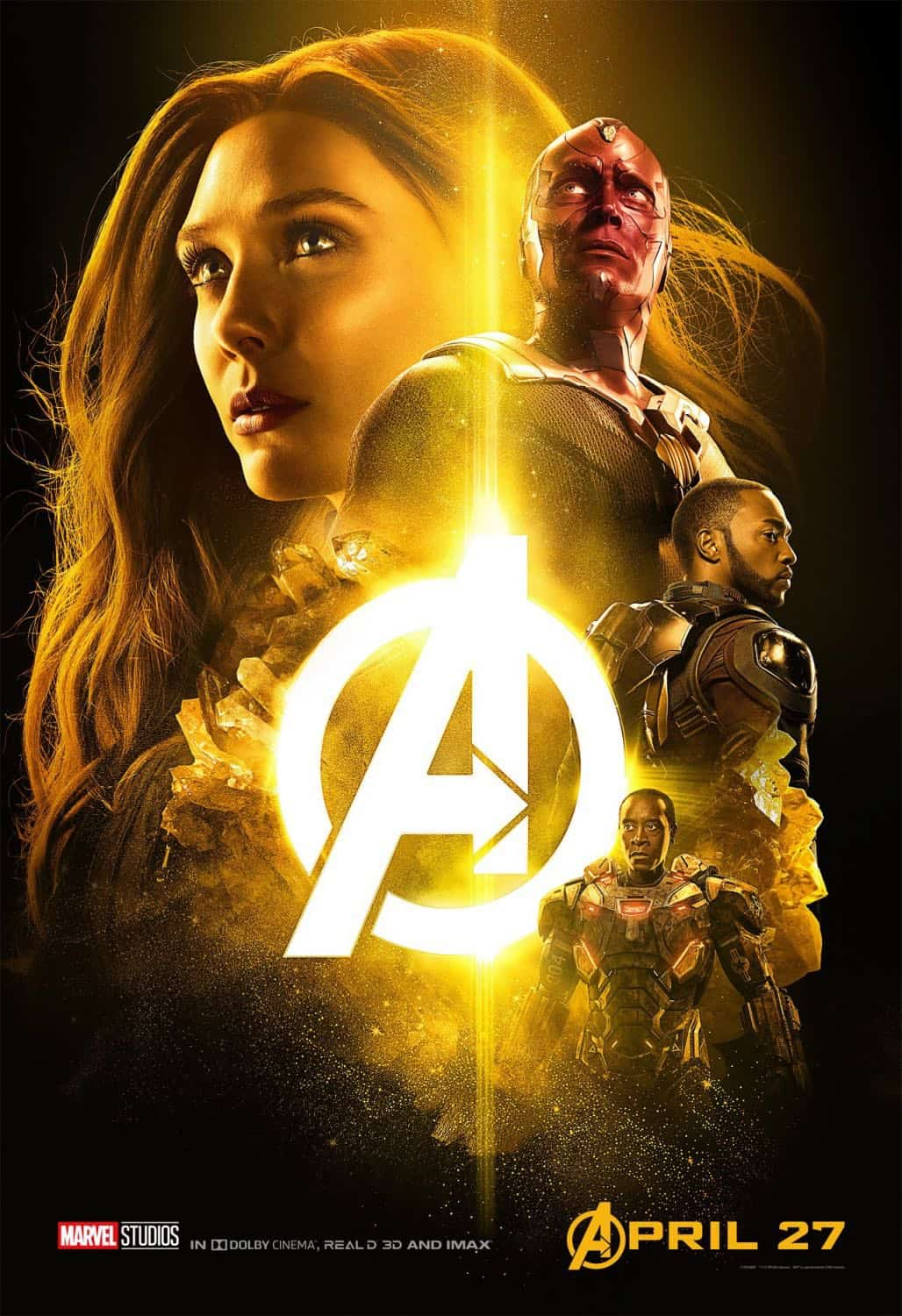 New AVENGERS INFINITY WAR Posters 4