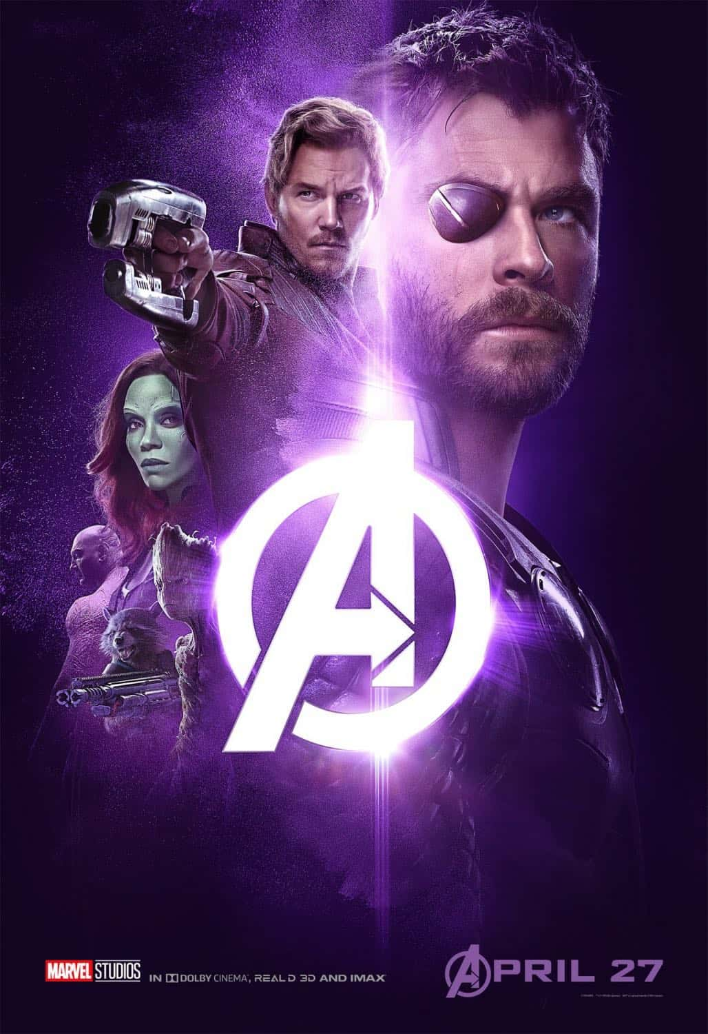 New AVENGERS INFINITY WAR Posters 5