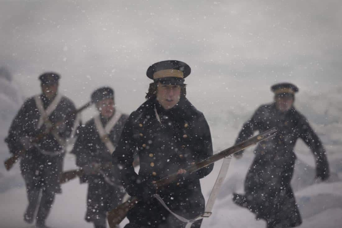 Tobias Menzies as James Fitzjames - The Terror _ Season 1, Episode 3 - Photo Credit: Aidan Monaghan/AMC