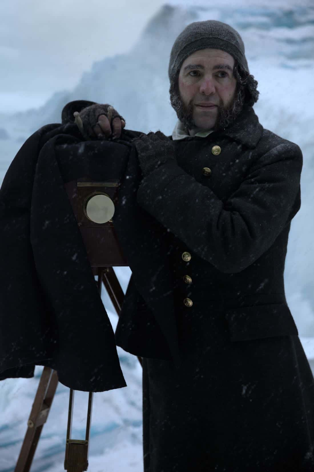 Paul Ready as Dr. Henry Goodsir - The Terror _ Season 1, Episode 3 - Photo Credit: Aidan Monaghan/AMC