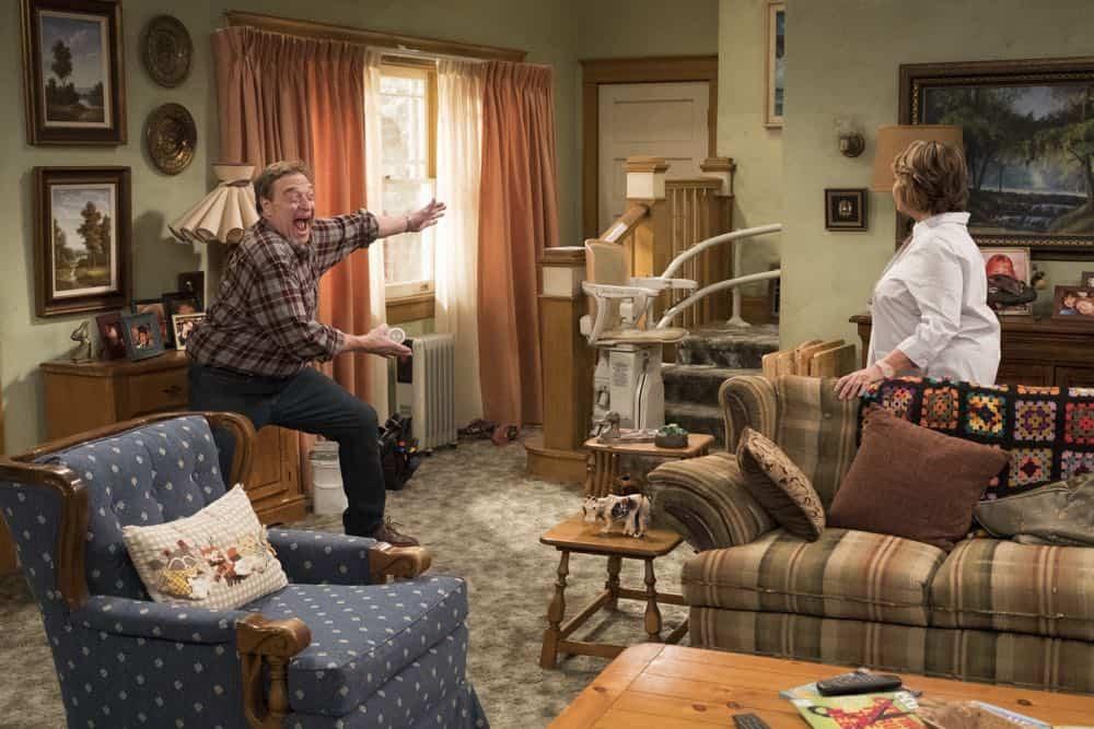 Roseanne Episode 3 Season 10 Roseanne Gets the Chair 04