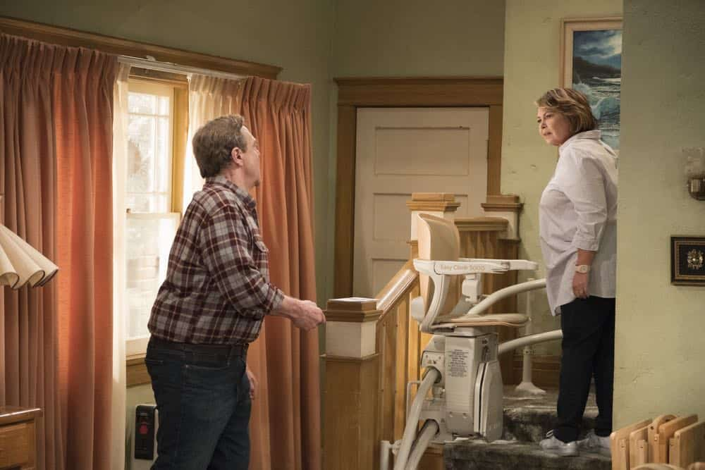 Roseanne Episode 3 Season 10 Roseanne Gets the Chair 05