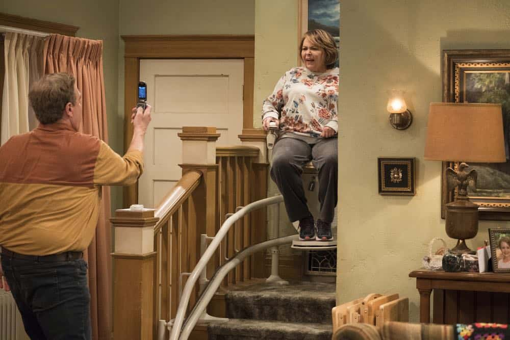 Roseanne Episode 3 Season 10 Roseanne Gets the Chair 19