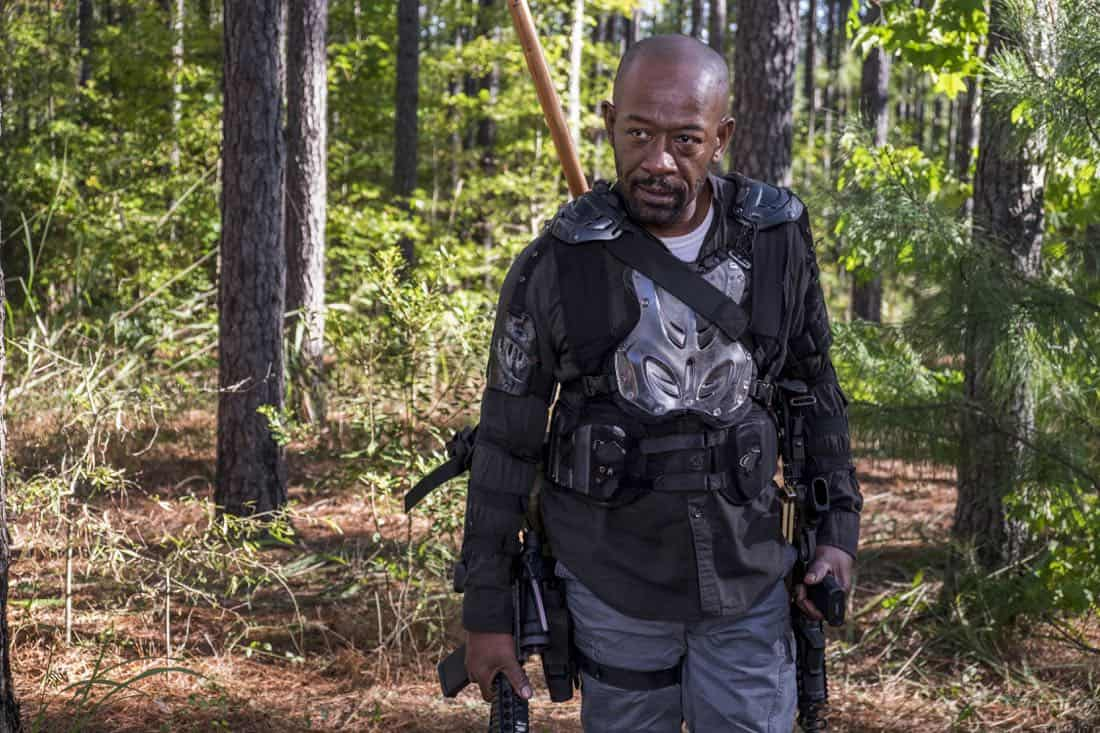 Lennie James as Morgan Jones - The Walking Dead _ Season 8, Episode 14 - Photo Credit: Gene Page/AMC