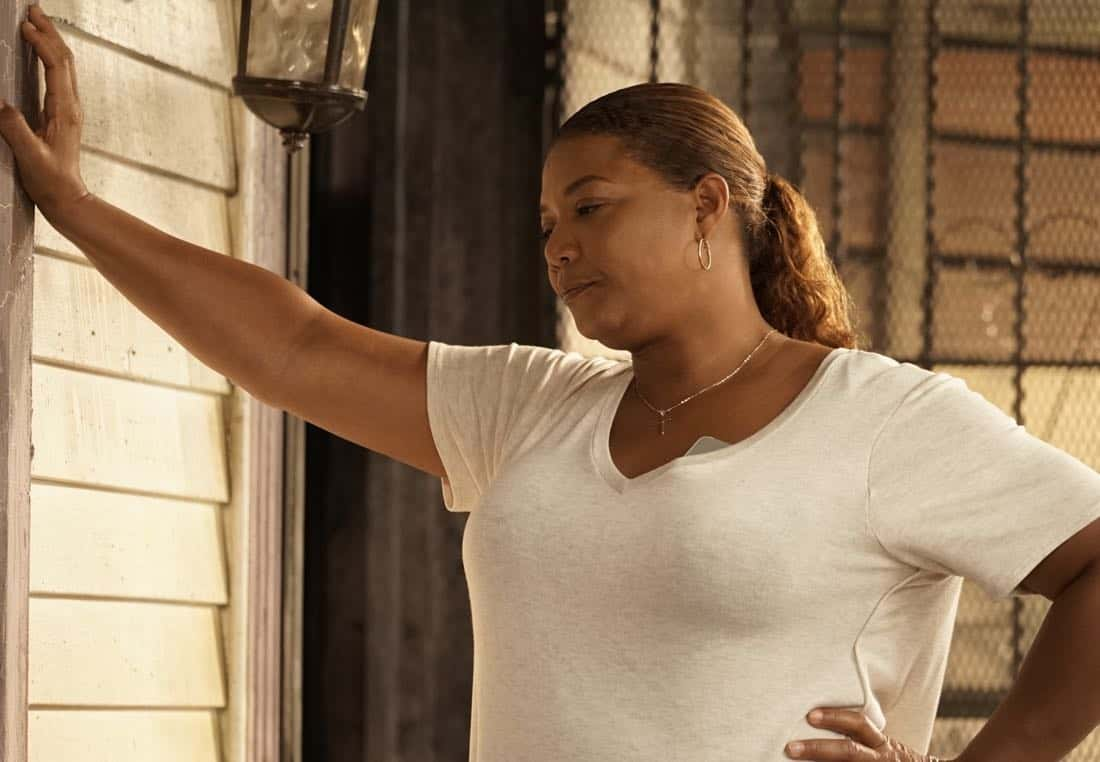 "STAR: Queen Latifah in the ""Rise from the Ashes "" Spring premiere episode of STAR airing Wednesday, March 28 (9:00-10:00 PM ET/PT) on FOX. ©2018 Fox Broadcasting Co. CR: Jace Downs/FOX"