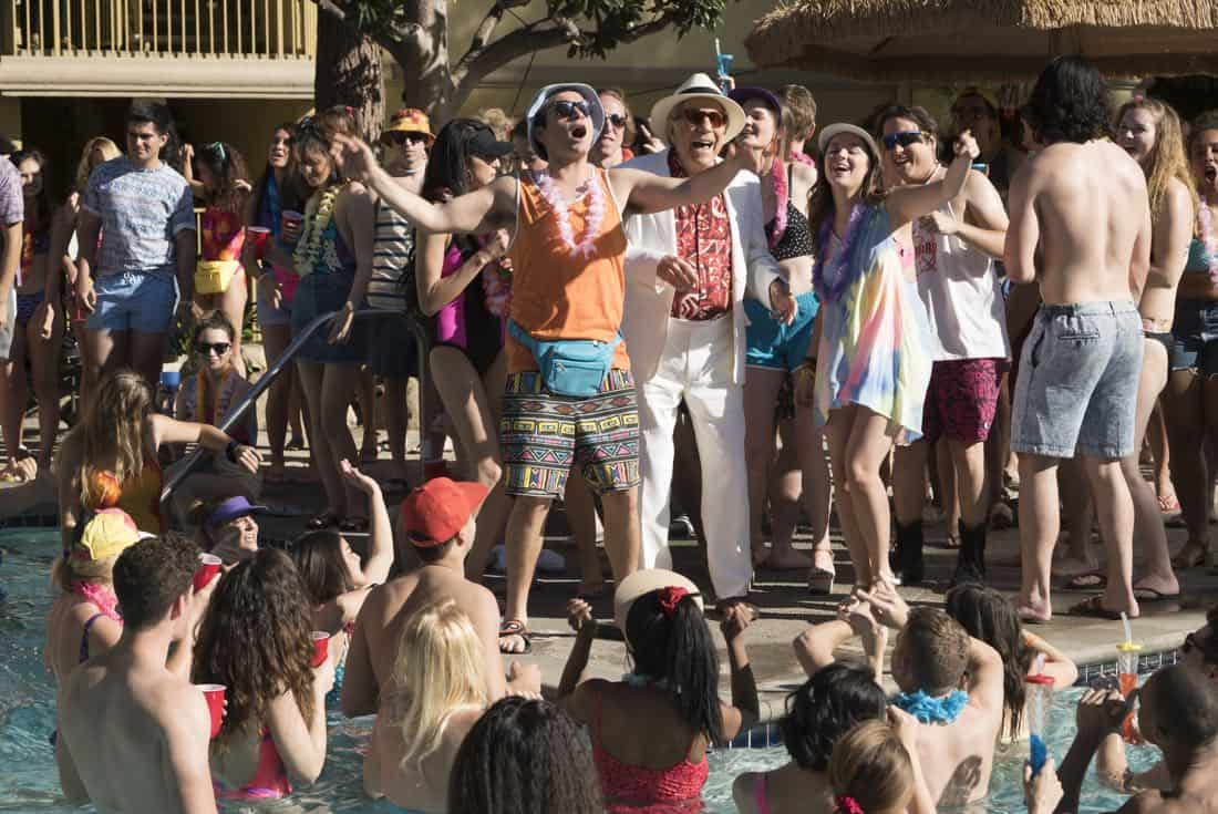 "THE GOLDBERGS - ""MTV Spring Break"" - Hoping to get the true spring break experience, Erica and Barry visit Pops in Florida, yet it's nothing how they expected. Meanwhile, Adam tells the truth to Beverly and Murray but then gets a surprising reaction, on ""The Goldbergs,"" WEDNESDAY, APRIL 4 (8:00-8:30 p.m. EDT), on The ABC Television Network. (ABC/Ron Tom) TROY GENTILE, GEORGE SEGAL, ALEX JENNINGS, HAYLEY ORRANTIA, SEAN MARQUETTE"