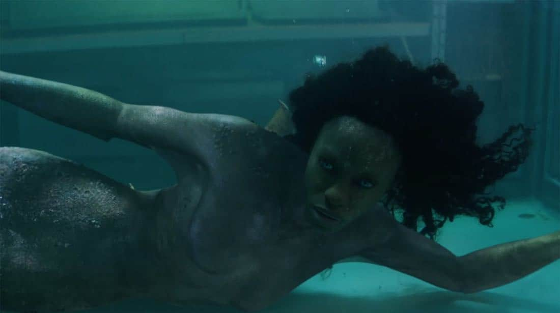"SIREN – ""Pilot"" – The coastal town of Bristol Cove, once known for being home to mermaids, is turned upside down with the arrival of a mysterious girl. This series premiere of ""Siren"" airs Thursday, March 29 (8:00-9:01 p.m. EDT) on Freeform. (Freeform) SIBONGILE MLAMBO"