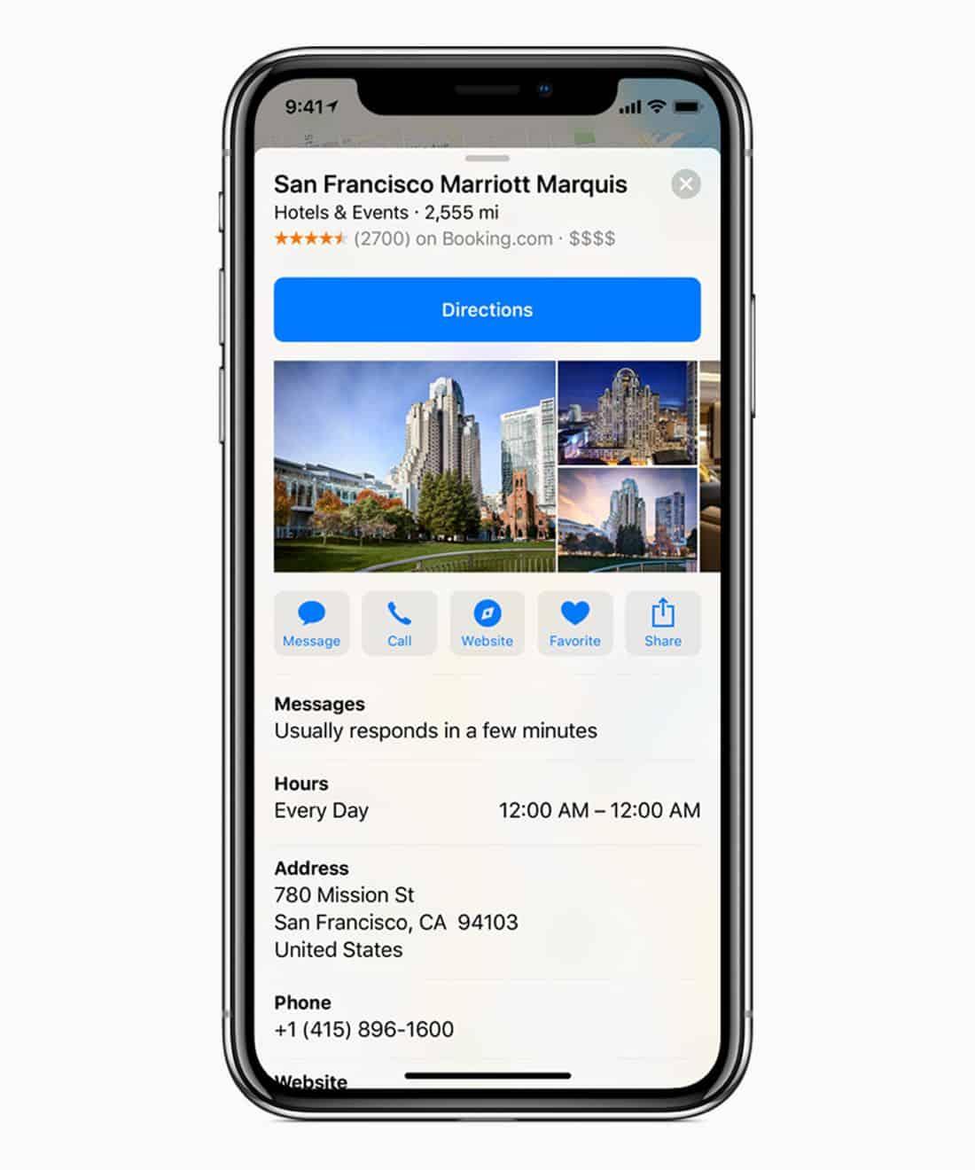 iOS 11.3 business maps screen 03292018