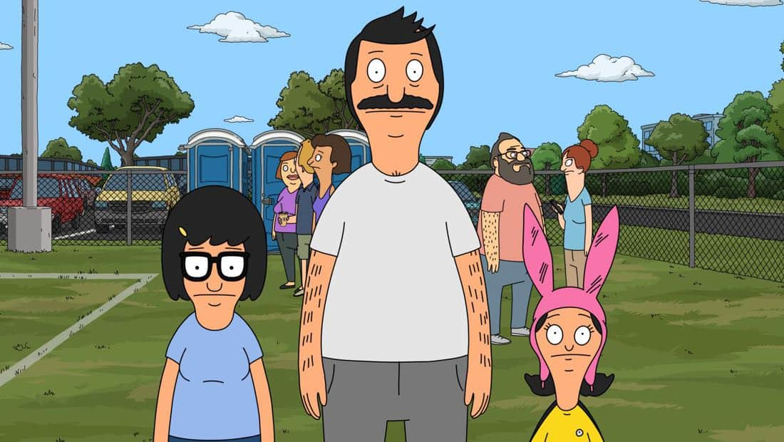 "BOB'S BURGERS: After forgetting that they signed up Louise for a soccer league, the Belchers must help her prepare for her season's last game in the ""The Hurt Soccer"" episode of BOB'S BURGERS airing Sunday, Apr. 1 (7:30-8:00PM ET/PT) on FOX. BOB'S BURGERS ™ and © 2018 TCFFC ALL RIGHTS RESERVED. CR: FOX"