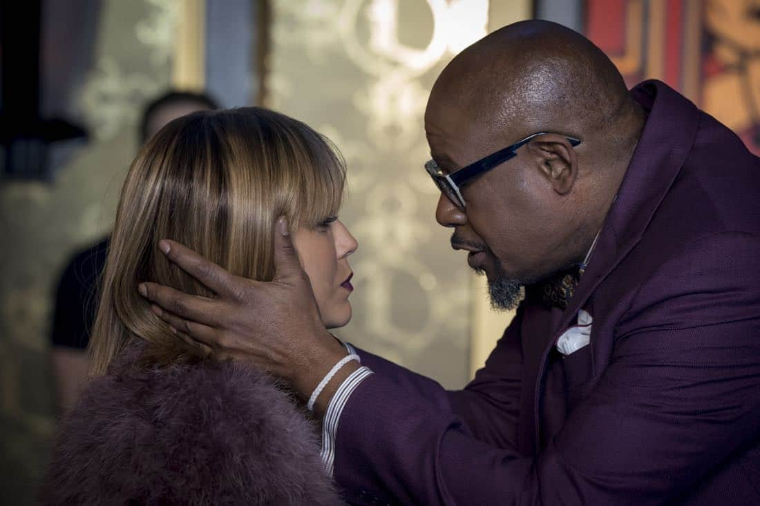 "EMPIRE: Pictured L-R: Guest stars Nicole Ari Parker and Forest Whitaker in the ""Without Apology"" episode of EMPIRE airing Wednesday, April 4, (8:00-9:00 PM ET/PT) on FOX. ©2018 Fox Broadcasting Co. CR: Chuck Hodes/FOX"