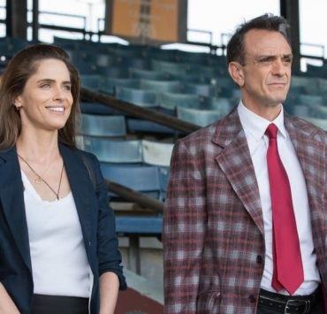 Brockmire Hank Azaria and Amanda Peet - Photo Credit: Erika Doss/IFC