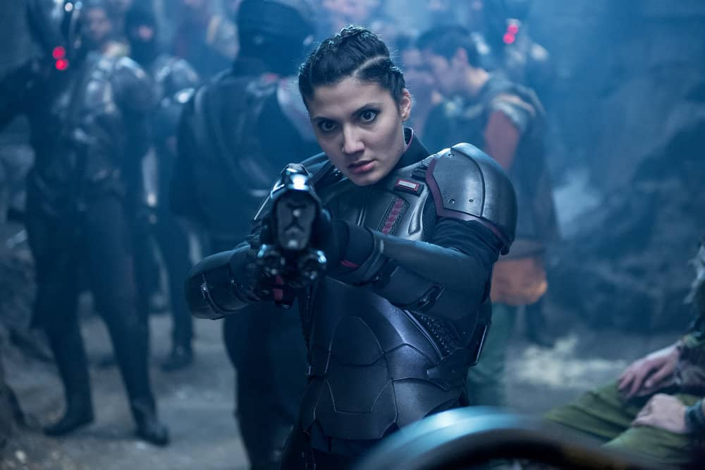 "KRYPTON -- ""The Rankless Initiative"" Episode 103 -- Pictured: Andrea Vasiliou as Kol-Da -- (Photo by: Steffan Hill/Syfy)"