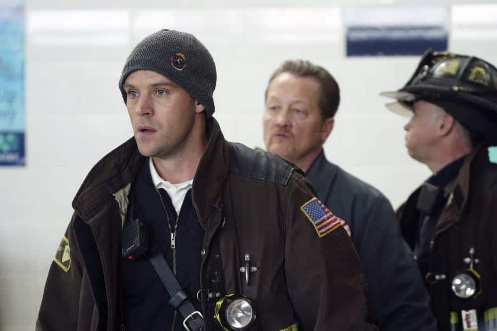 """CHICAGO FIRE -- """"Put White On Me"""" Episode 617 -- Pictured: Jesse Spencer as Matthew Casey -- (Photo by: Elizabeth Morris/NBC)"""