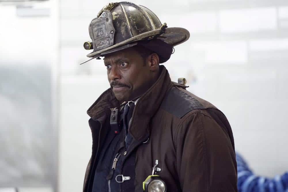 """CHICAGO FIRE -- """"Put White On Me"""" Episode 617 -- Pictured: Eamonn Walker as Wallace Boden -- (Photo by: Elizabeth Morris/NBC)"""
