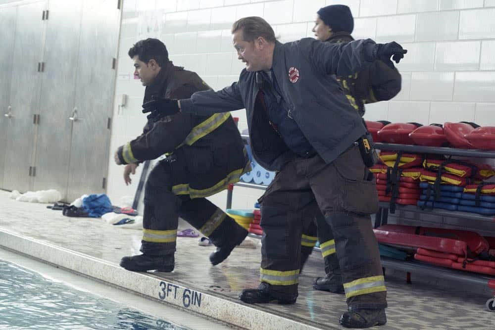 """CHICAGO FIRE -- """"Put White On Me"""" Episode 617 -- Pictured: Christian Stolte as Mouch -- (Photo by: Elizabeth Morris/NBC)"""