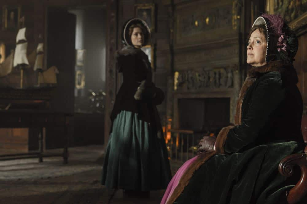 Greta Scacchi as Lady Jane Franklin, Sian Brooke as Sophia Craycroft - The Terror _ Season 1, Episode 4 - Photo Credit: Aidan Monaghan/AMC