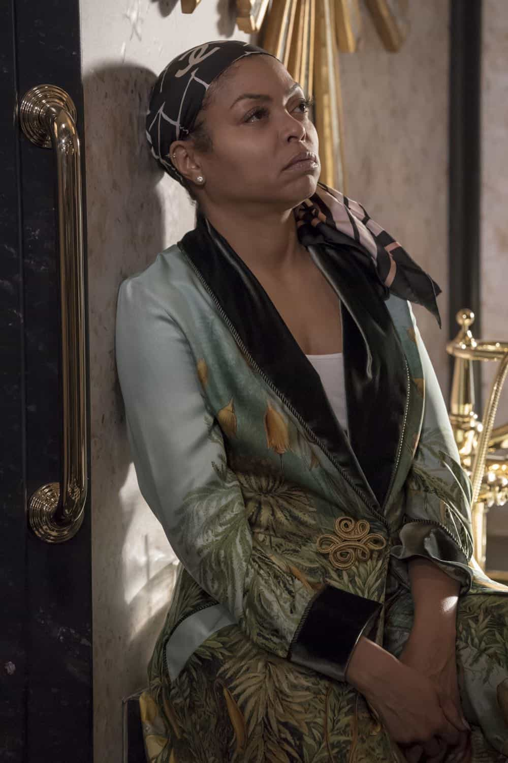 "EMPIRE: Taraji P. Henson in the ""Sweet Sorrow"" episode of EMPIRE airing Wednesday, April 11 (8:00-9:00 PM ET/PT) on FOX. CR: Fox Broadcasting Co. CR: Chuck Hodes"
