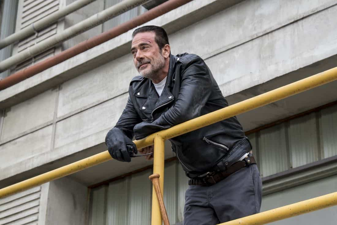 Jeffrey Dean Morgan as Negan - The Walking Dead _ Season 8, Episode 15 - Photo Credit: Gene Page/AMC