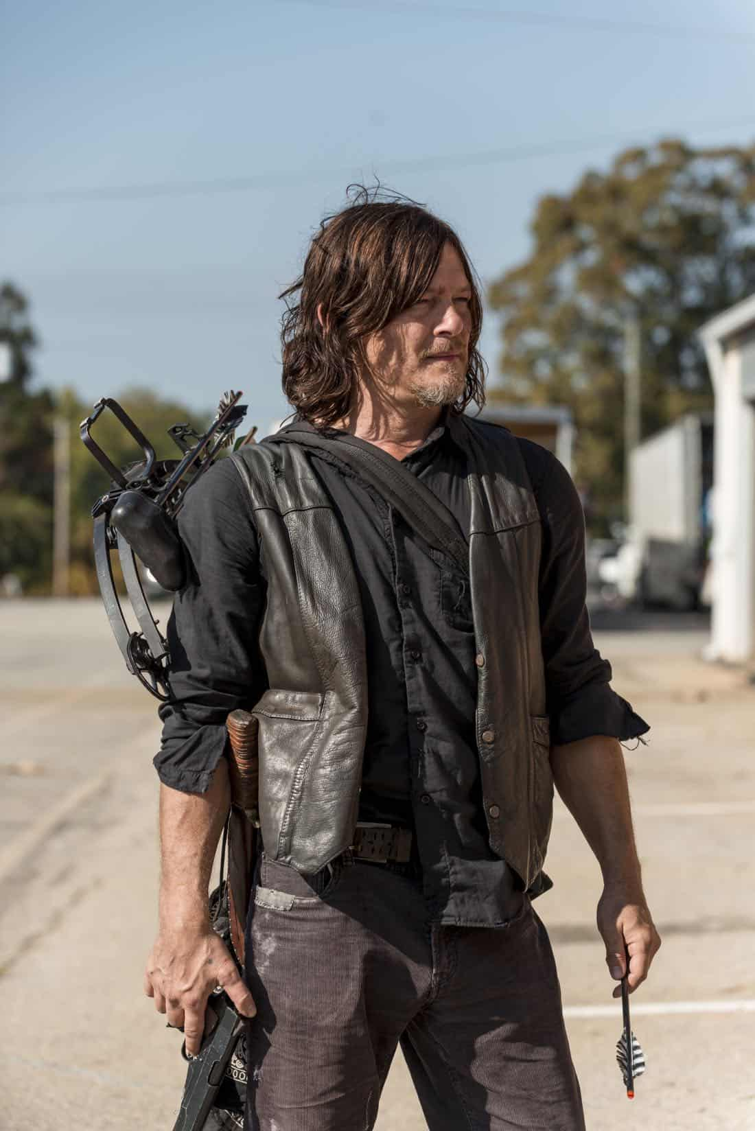 Norman Reedus as Daryl Dixon - The Walking Dead _ Season 8, Episode 15 - Photo Credit: Gene Page/AMC