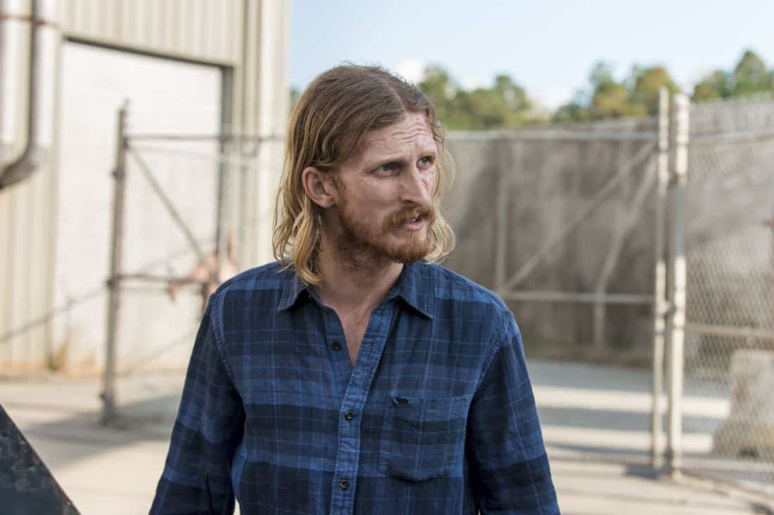Austin Amelio as Dwight - The Walking Dead _ Season 8, Episode 15 - Photo Credit: Gene Page/AMC