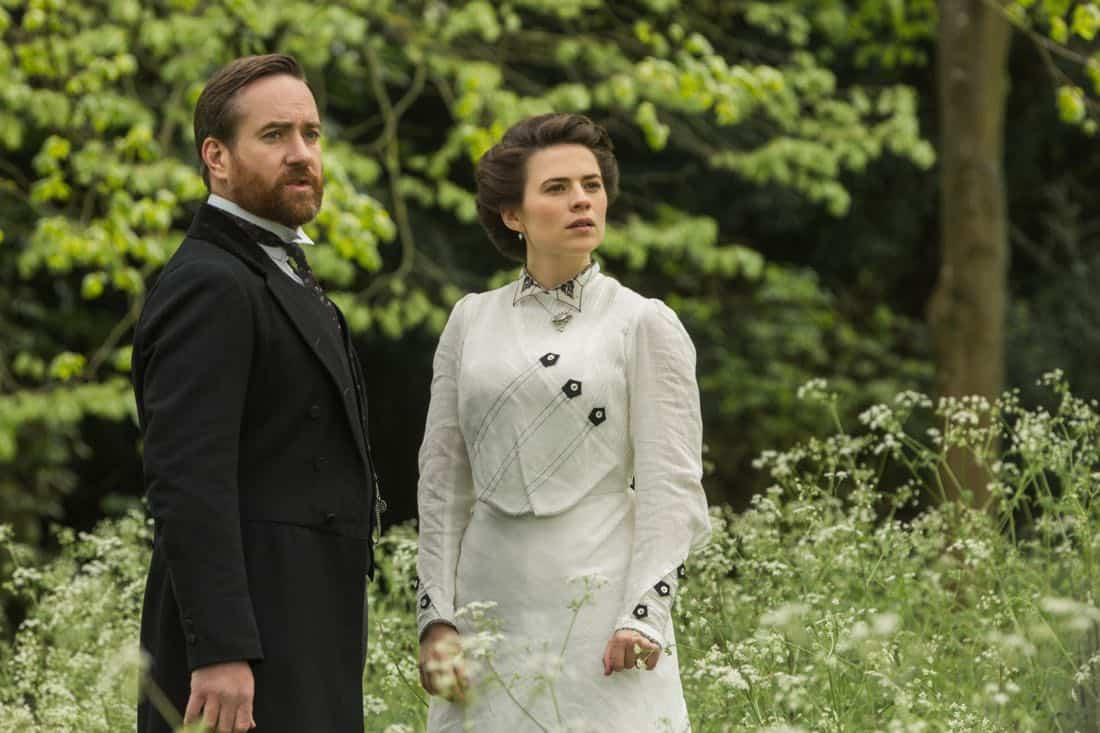 Matthew MacFadyen Henry Wilcox Hayley Atwell Margaret Schlegel Howards End 4