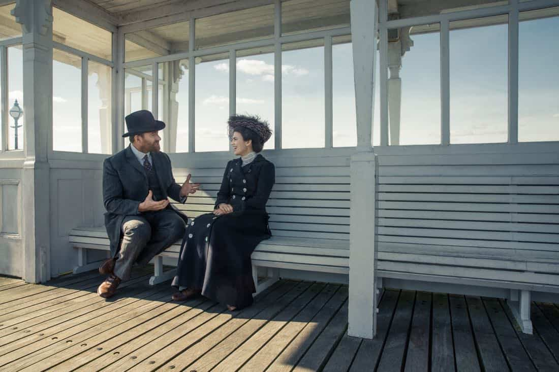 Matthew MacFadyen Henry Wilcox Hayley Atwell Margaret Schlegel Howards End 3