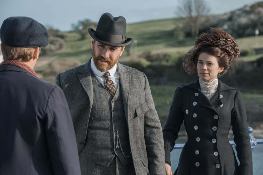 Matthew MacFadyen Henry Wilcox Hayley Atwell Margaret Schlegel Howards End
