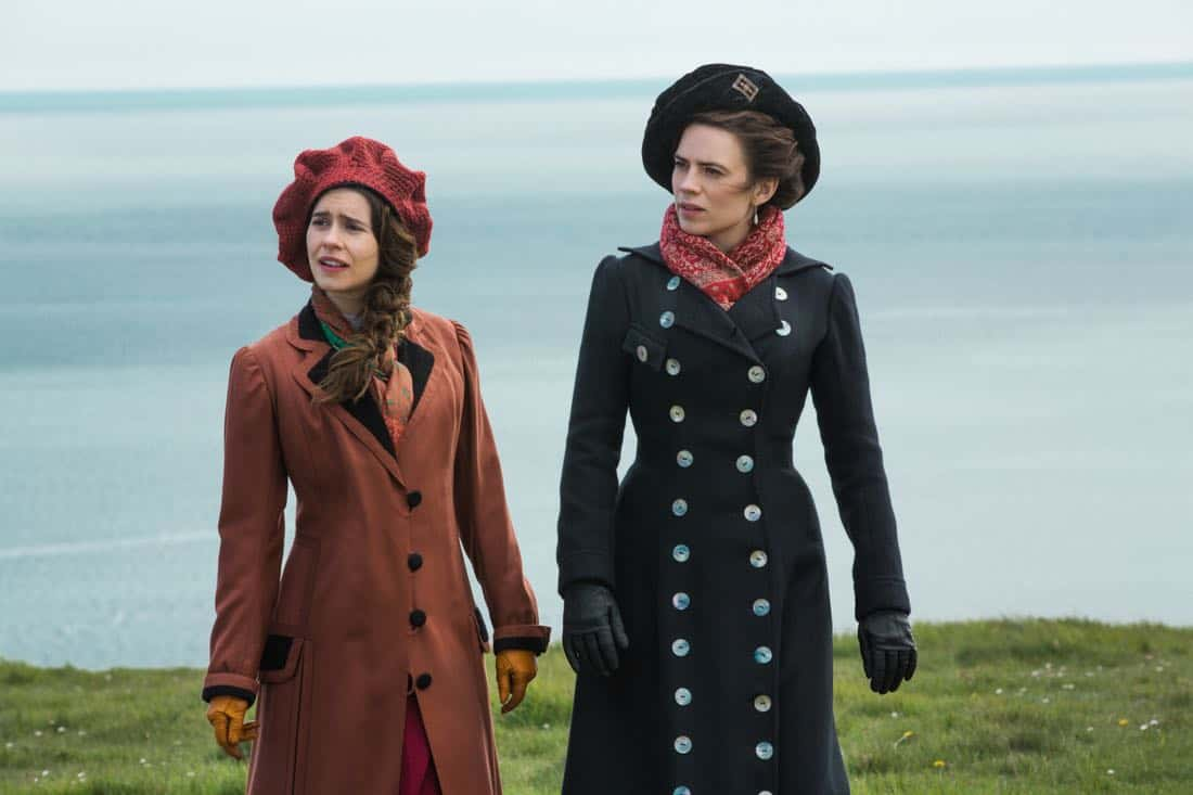 Philippa Coulthard Helen Schlegel Hayley Atwell Margaret Schlegel Howards End 2