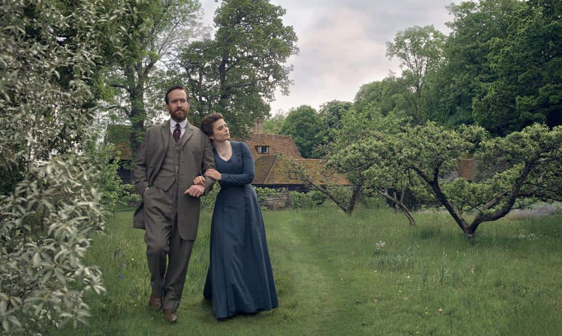 Matthew MacFadyen Henry Wilcox Hayley Atwell Margaret Schlegel Howards End1