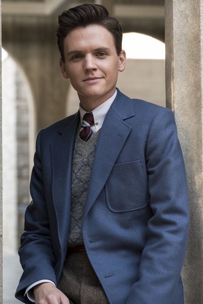 "TIMELESS -- ""The Kennedy Curse"" Episode 205 -- Pictured: Grant Jordan as JFK -- (Photo by Justin Lubin/NBC)"