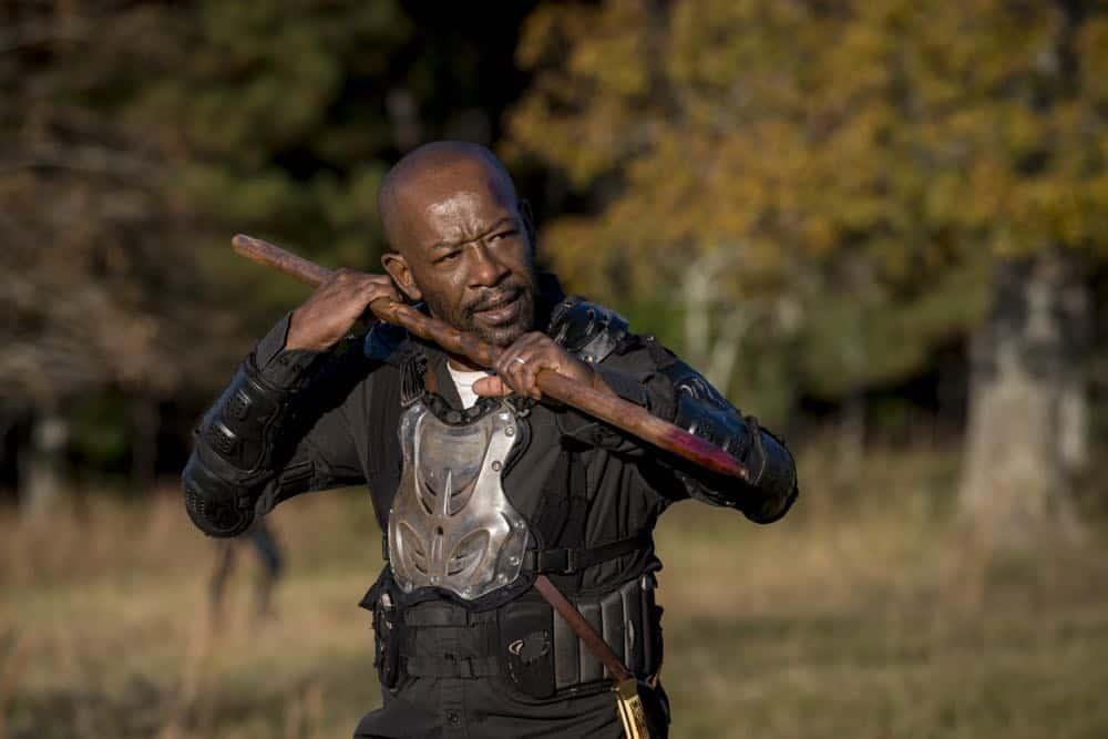 Lennie James as Morgan Jones - The Walking Dead _ Season 8, Episode 16 - Photo Credit: Gene Page/AMC
