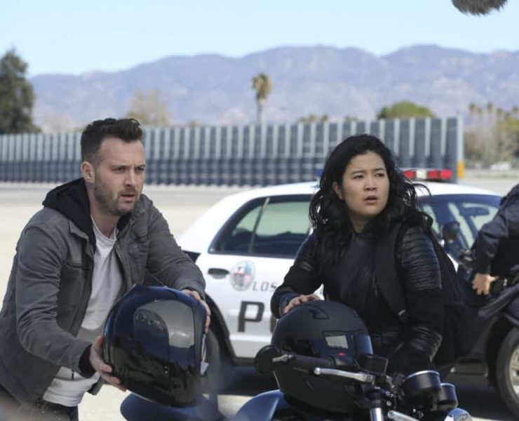 """""""Kenny and the Jet"""" -- Coverage of the CBS series SCORPION, scheduled to air on the CBS Television Network. Photo: Michael Yarish/CBS ©2018 CBS Broadcasting, Inc. All Rights Reserved"""