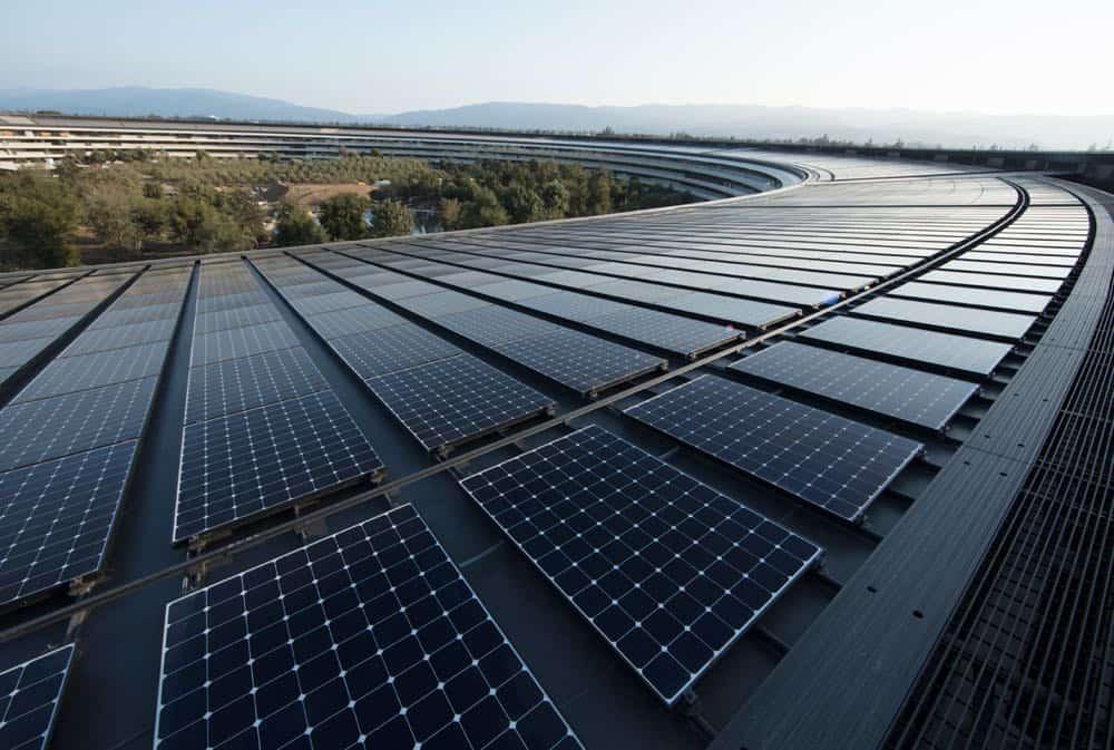 Renewable Energy Apple AP Solar Panels 040918