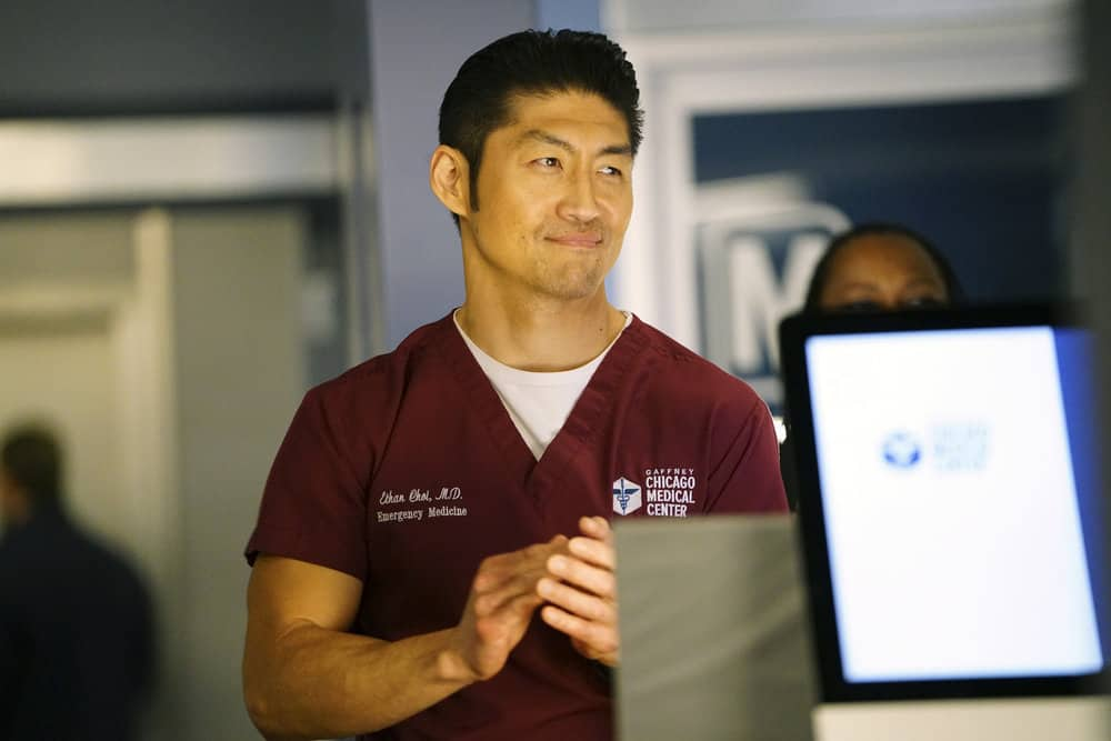 """CHICAGO MED -- """"Devil in Disguise"""" Episode 315 -- Pictured: Brian Tee as Ethan Choi -- (Photo by: Elizabeth Sisson/NBC)"""