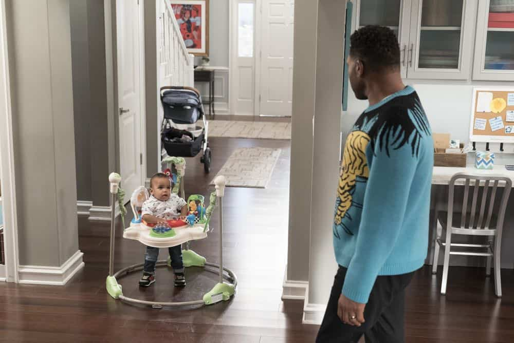 "BLACK-ISH - ""Dog Eat Dog World"" - The family is divided over the idea of getting a dog after Dre and Bow promise Jack they can get one after he gets Straight A's - and he does! Meanwhile, Bow's brother Johan is in town and he doesn't get the warm welcome he expects from Ruby, on ""black-ish,"" TUESDAY, APRIL 10 (9:00-9:30 p.m. EDT), on The ABC Television Network. (ABC/Eric McCandless) AUGUST AND BERLIN GROSS, ANTHONY ANDERSON"