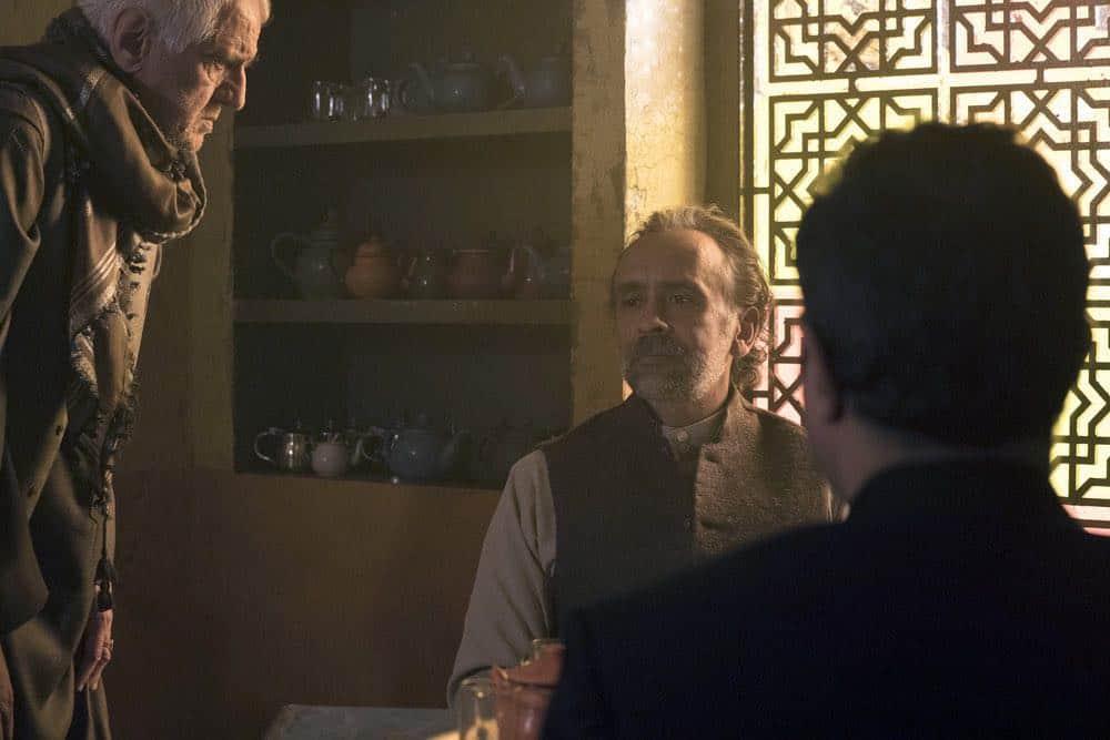 "THE BLACKLIST -- ""Zarak Mosadek (#23)"" Episode 518 -- Pictured: Bernard White as Zarak Mosadek -- (Photo by: Virginia Sherwood/NBC)"