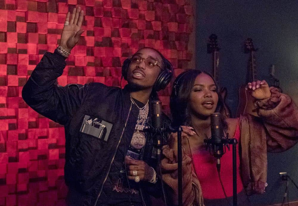 "STAR: L-R: Guest star Quavo and Ryan Destiny in the ""Dreamers"" episode of STAR airing Wednesday, April 11 (9:00-10:00 PM ET/PT) on FOX. CR: Fox Broadcasting Co. CR: Wilford Harwood"