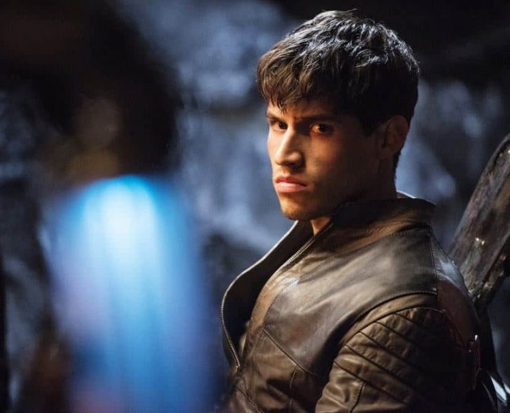 "KRYPTON -- ""The World of Rao Episode 104 -- Pictured: Cameron Cuffe as Seg-El -- (Photo by: Steffan Hill/Syfy)"