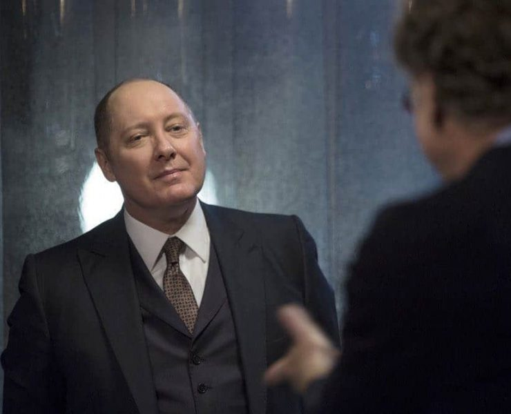 "THE BLACKLIST -- ""Ian Garvey (#13): Conclusion"" Episode 519 -- Pictured: James Spader as Raymond ""Red"" Reddington -- (Photo by: Eric Leibowitz/NBC)"