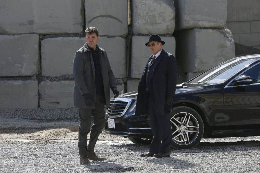 """THE BLACKLIST -- """"Ian Garvey (#13): Conclusion"""" Episode 519 -- Pictured: James Spader as Raymond """"Red"""" Reddington -- (Photo by: Will Hart/NBC)"""