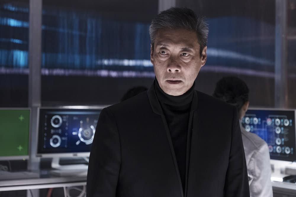 "THE EXPANSE -- ""Iff"" Episode 302 -- Pictured: François Chau as Jules-Pierre Mao -- (Photo by: Rafy/Syfy)"