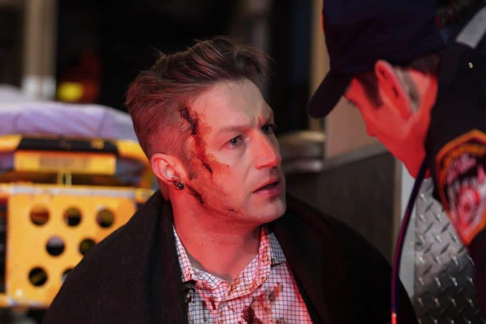 "LAW & ORDER: SPECIAL VICTIMS UNIT -- ""Sunk Cost Fallacy"" Episode 1919 -- Pictured: Peter Scanavino as Dominick ""Sonny"" Carisi -- (Photo by:Peter Kramer/NBC)"