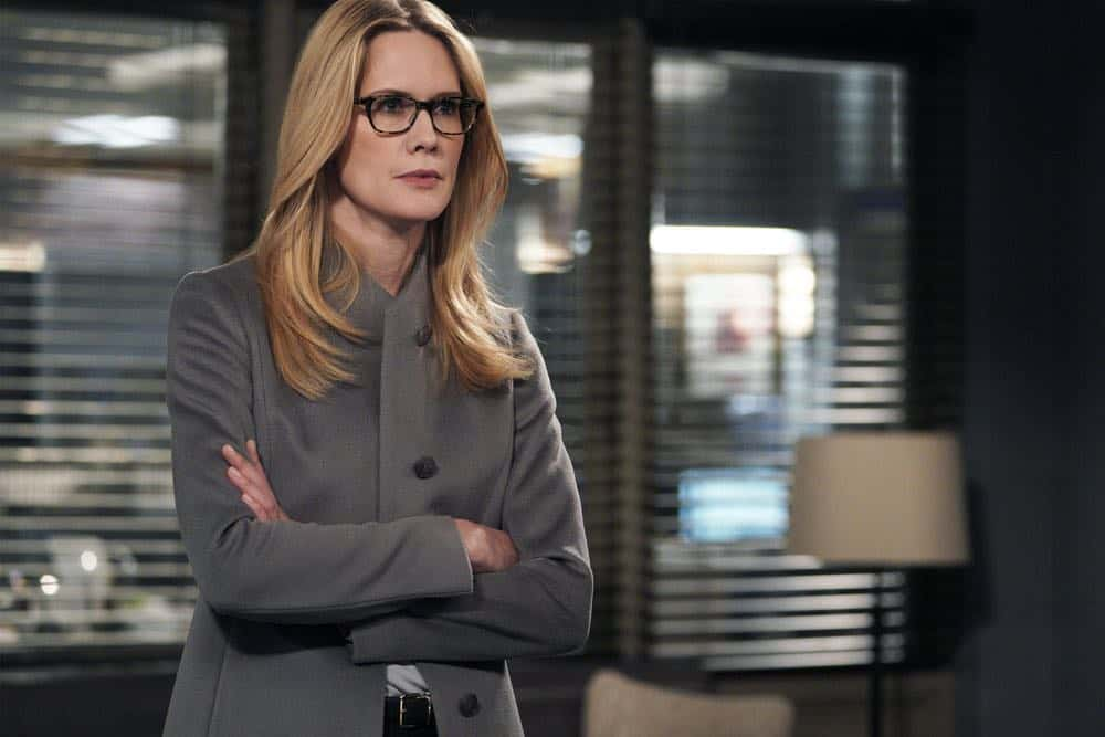 "LAW & ORDER: SPECIAL VICTIMS UNIT -- ""Sunk Cost Fallacy"" Episode 1919 -- Pictured: Stephanie March as Alexandra Cabot -- (Photo by:Peter Kramer/NBC)"