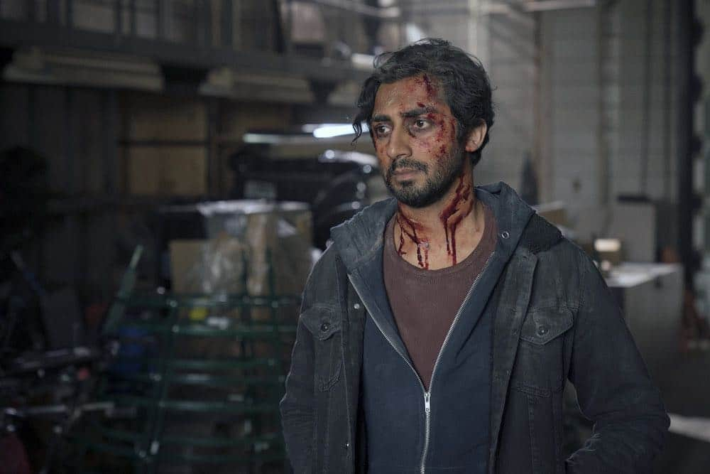 "TAKEN -- ""password"" Episode 211 -- Pictured: Vinny Chhibber as Vik Desai -- (Photo by: Panagiotis Pantazidis/NBC)"